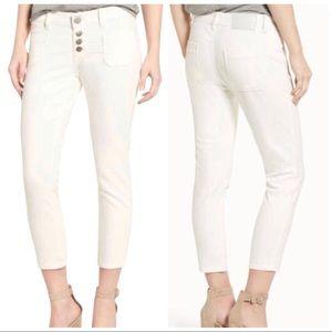 One Teaspoon Super Duper Cropped Skinny Jeans